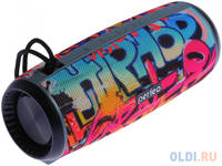 "Perfeo Bluetooth-колонка ""HIP HOP"" FM, microSD, USB, AUX, мощность 12Вт, 2600mAh, граффити PF_A4336"