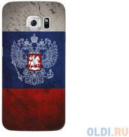 Чехол Deppa Art Case и защитная пленка для Samsung Galaxy S6 edge, Патриот_Флаг