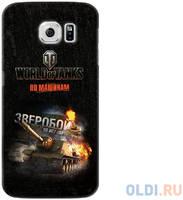 Чехол Deppa Art Case и защитная пленка для Samsung Galaxy S6, Танки_Зверобой