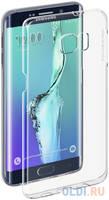 Deppa Чехол Pure Case и защитная пленка для Samsung Galaxy S6 edge+ с защитным нанесением hard coating прозрачный 69012
