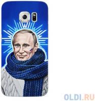 Чехол Deppa Art Case и защитная пленка для Samsung Galaxy S6 edge, Person_Путин звезда