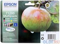 Набор картриджей Epson C13T12954010/С13Т12954012 T1295 Multipack для SX420W BX305F