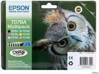 Набор картриджей Epson C13T079A4A10 540стр Многоцветный