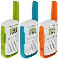 Комплект из 3 раций Комплект раций Motorola Talkabout T42 Triple (3шт)
