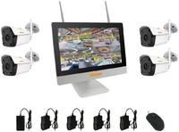 Готовый комплект видеонаблюдения CARCAM KIT-5M LCD 4 камеры