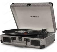 Виниловый проигрыватель CROSLEY CRUISER DELUXE [CR8005D-HB] herringbone c Bluetooth
