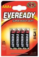 Батарейка ENERGIZER Eveready SUPER R03 AAA (4 шт) 1,5V