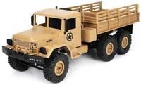 Радиоуправляемый грузовик WPL Army Truck 6WD RTR масштаб 1:16 2.4G - WPLB-16R-Yellow