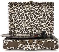Виниловый проигрыватель CROSLEY CRUISER DELUXE [CR8005D-LP] Leopard c Bluetooth