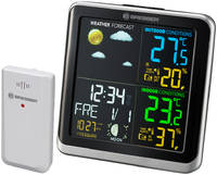 Метеостанция Bresser (Брессер) ClimaTemp TB с цветным дисплеем