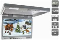 Потолочный автомобильный монитор 20,1″ с HDMI и встроенным медиаплеером AVIS Electronics AVS2020MPP