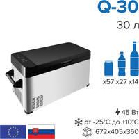 Компрессорный автомобильный холодильник Libhof Q-30 (12/24В)