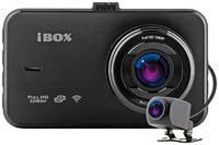 Видеорегистратор с 2-мя камерами iBOX Optic WiFi Dual + Камера заднего вида