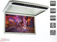 """Потолочный монитор 17,3"""" со встроенным Full HD медиаплеером AVEL Electronics AVS1707MPP"""