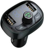 Автомобильное зарядное устройство Baseus T typed Bluetooth MP3 charger with car holder Tarnish
