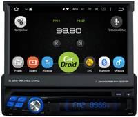 Штатная магнитола CarDroid RD-1001D 1DIN Универсальная 7 (Android 9.0) DSP
