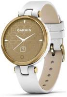 Часы Garmin Lily безель, корпус и итальянский кожаный ремешок