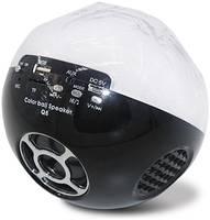 Цветомузыкальная колонка Bluetooth и MP3 плеер