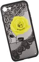 Apple Защитная крышка «LP» для iPhone SE 2/8/7 Роза желтая (европакет)