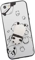 Apple Защитная крышка «LP» для iPhone 5/5s/SE Мягкий Панда катится с горки (европакет)