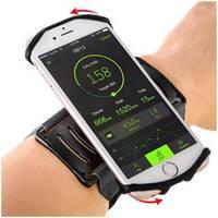Браслет-переноска телефона с поворотом на 180 градусов для бега
