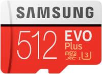 Samsung EVO Plus 512 ГБ CL10 + SD адаптер
