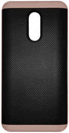 Прорезиненный бампер для Xiaomi Redmi Pro (Bocoson,розовое золото)