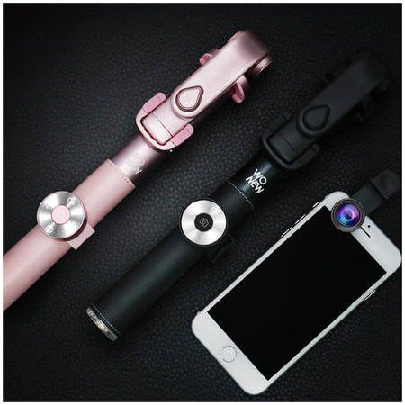 Wonew Монопод Wo New Leather Selfie Stick BR-16BK