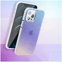 Чехол Kingxbar Ombre для iPhone 12 Pro Max и Kingxbar IP 12/12 Pro Max Ombre Series-Blue &