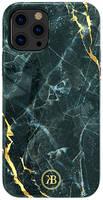 Чехол Kingxbar Marble для iPhone 12 Pro Max Kingxbar iPhone 12 Pro Max Marble Series-Black