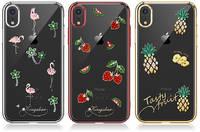 Чехол Kingxbar Tropical для iPhone XR Pineapple