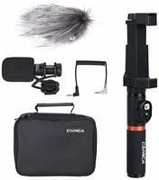 Микрофон CoMica CVM-VM10-K3 с держателем и пультом