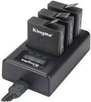 Зарядное устройство тройное KingMa Triple charger для GoPro Hero 5/6/7/8 BM043