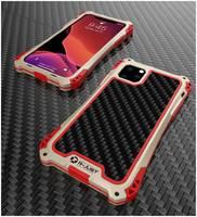 Чехол R-Just Amira для iPhone 11 Pro Max Красно-золотой RJ-04 iphone11-6.5 g-r