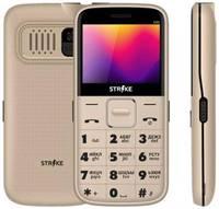 Мобильный телефон Strike S20 золотой
