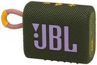 Портативная колонка JBL GO 3 зеленая