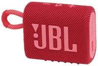 Портативная колонка JBL GO 3 красная