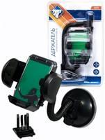 Держатель автомобильный Nova Bright для телефонов универсальный, 35-80 мм