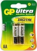 Батарейка GP Ultra Alkaline AA блистер 2 шт.
