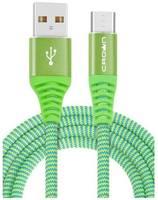 USB кабель CROWN CMCU-3102M зелёный