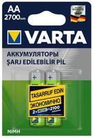 Аккумулятор Varta Power AA 2700 mAh 2 шт.