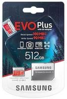 Карта памяти Samsung microSDXC 512Gb EVO Plus (MB-MC512HA/RU)