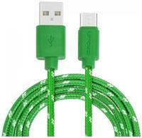 Кабель USB CROWN CMCU-3042C зелёный