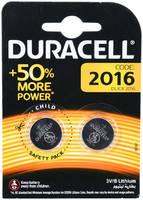 Батарейки Duracell DL 2016 (бл.2)