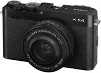 Беззеркальный фотоаппарат Fujifilm X-E4 Kit XF 27mm f/2.8 R WR
