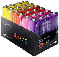 Батарейки цветные Xiaomi ZMI Rainbow Z15 типа АА (24 шт.)