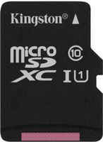 Карта памяти KINGSTON MicroSDHC 16GB Canvas Select Сlass 10 UHS-I 80Мб/с (SDCS/16GB)