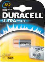 Батарейки Duracell 123A Ultra M3