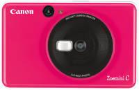 Камера моментальной печати Canon Zoemini C розовая