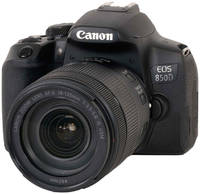 Зеркальный фотоаппарат Canon EOS 850D Kit EF-S 18-135 IS USM